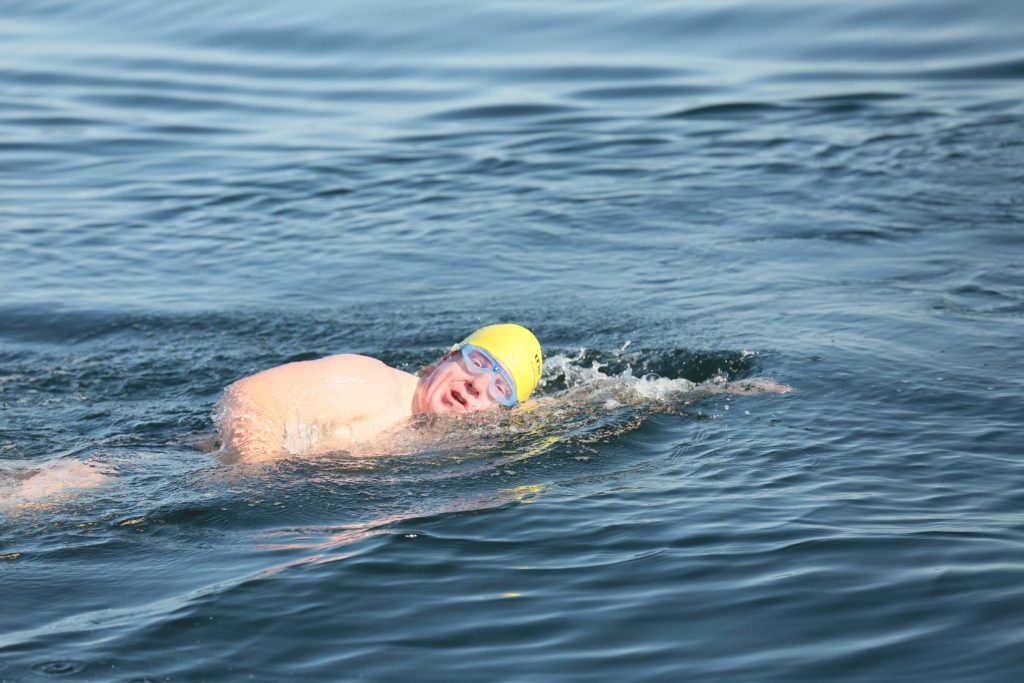 Noel Brownes Fastnet Swim