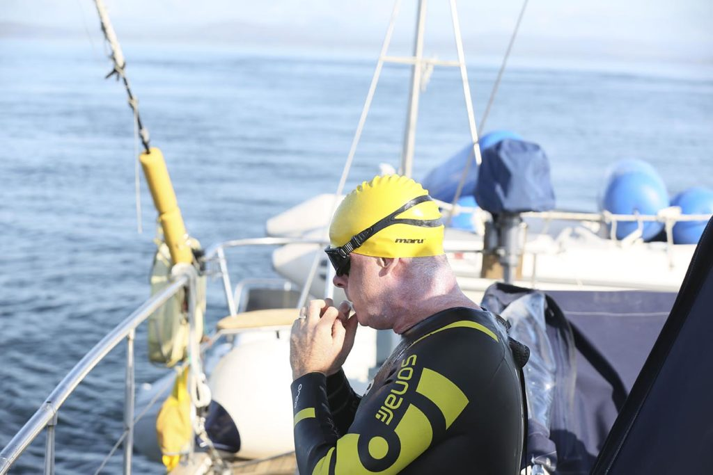 Sean Murrays Fastnet Swim